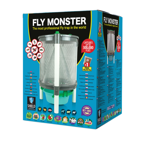 Fly In - Fly Monster Trap
